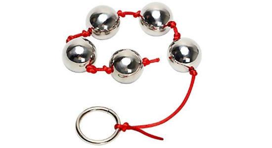 bolas anales de acero inoxidable y cuerda