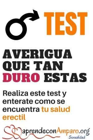 Test de funcion erectil